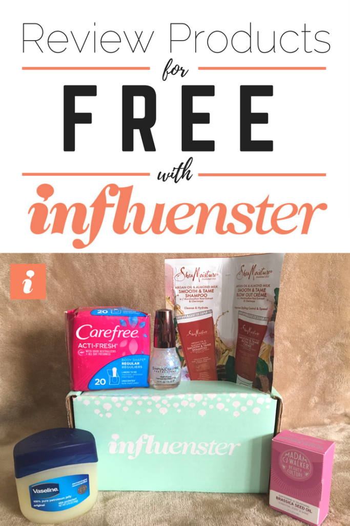 Influenster subscription and review