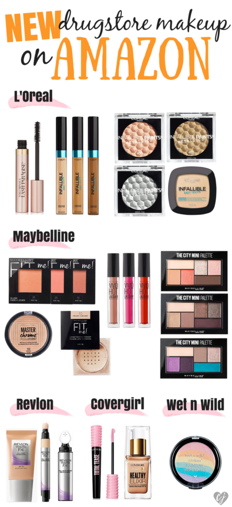 Drugstore Makeup On Amazon – New Arrivals