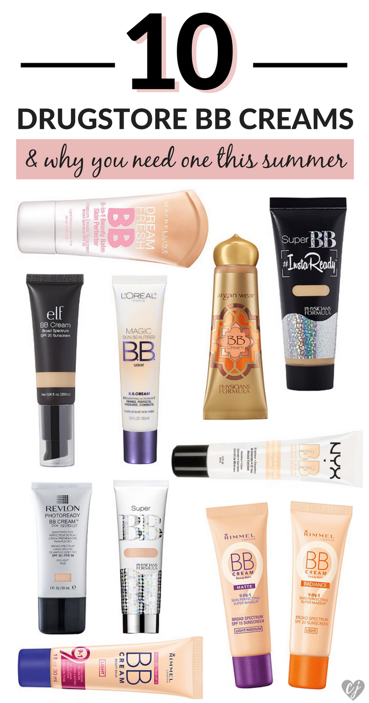 Best Drugstore BB Creams Summer
