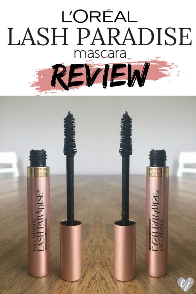 L'Oreal Paris Voluminous Lash Paradise Mascara Review
