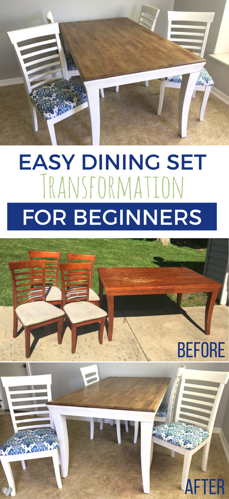Easy Dining Set Transformation For Beginners