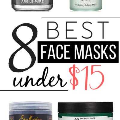 8 Best Face Masks Under $15