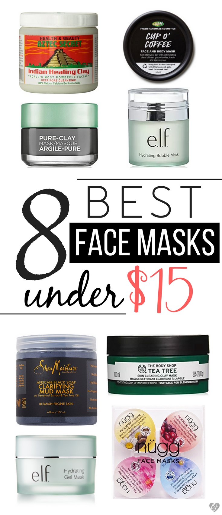 8 Best Face Masks Under $15