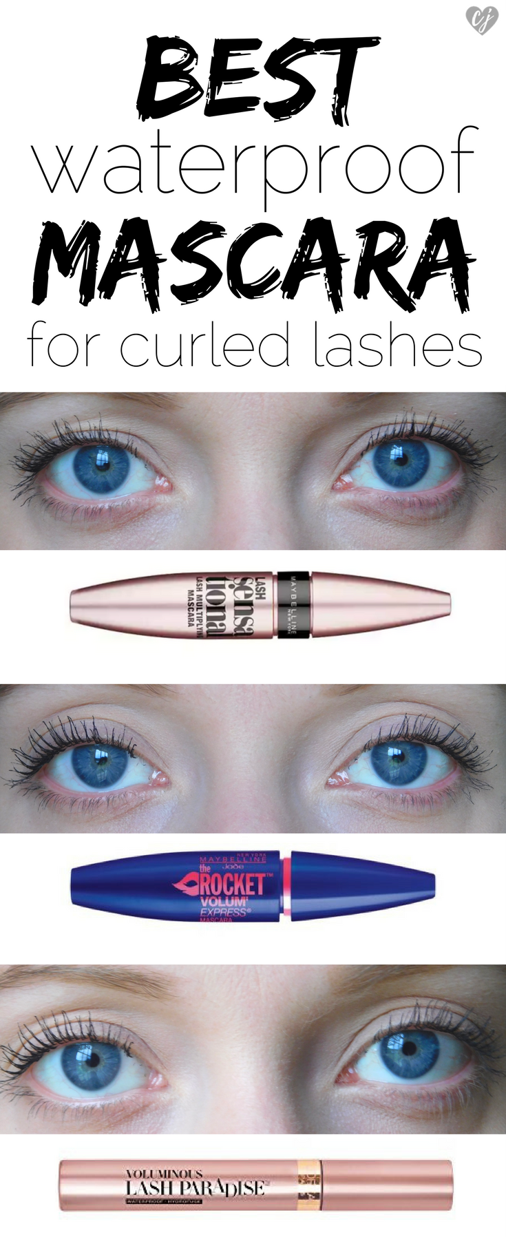Best Waterproof Mascara For Curled Lashes