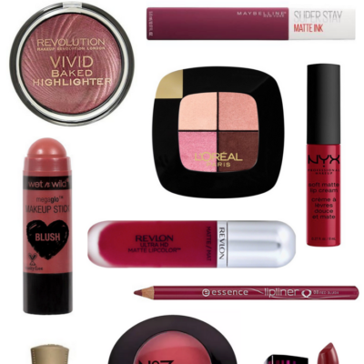 11 Affordable Berry Shades At The Drugstore
