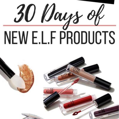 30 Days of New Elf Products Recap