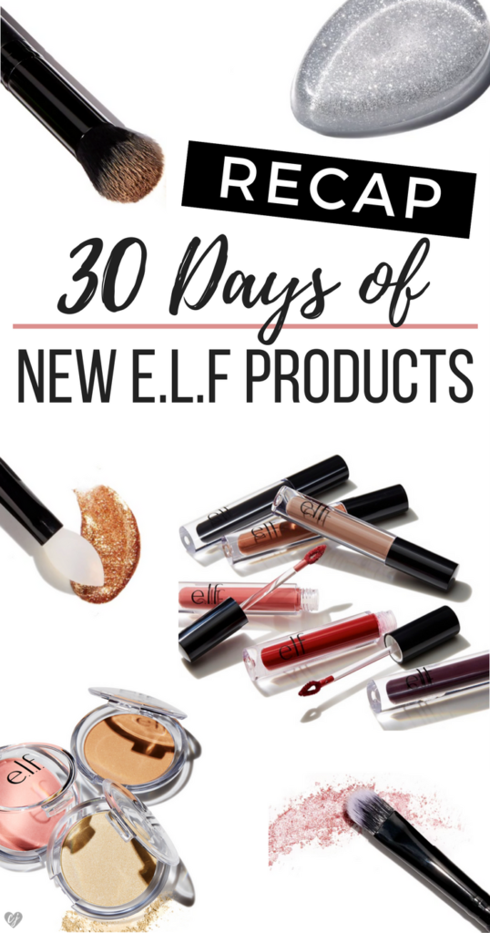 30 Days of New Elf Products Recap