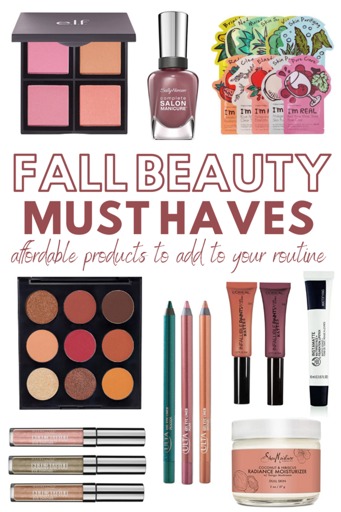 9 Products To Add To Your Fall Beauty Routine