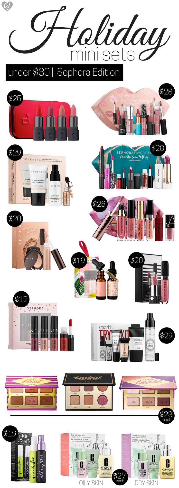 Best Holiday Mini Sets Under $30