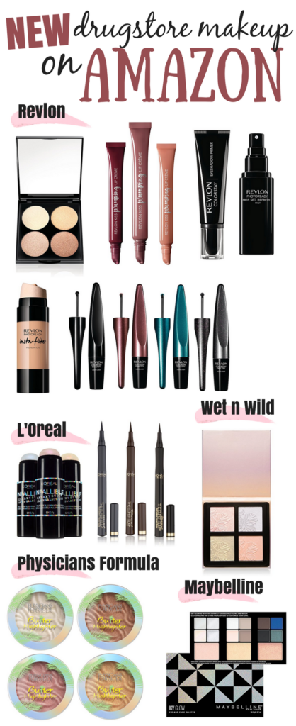 New Drugstore Makeup On Amazon