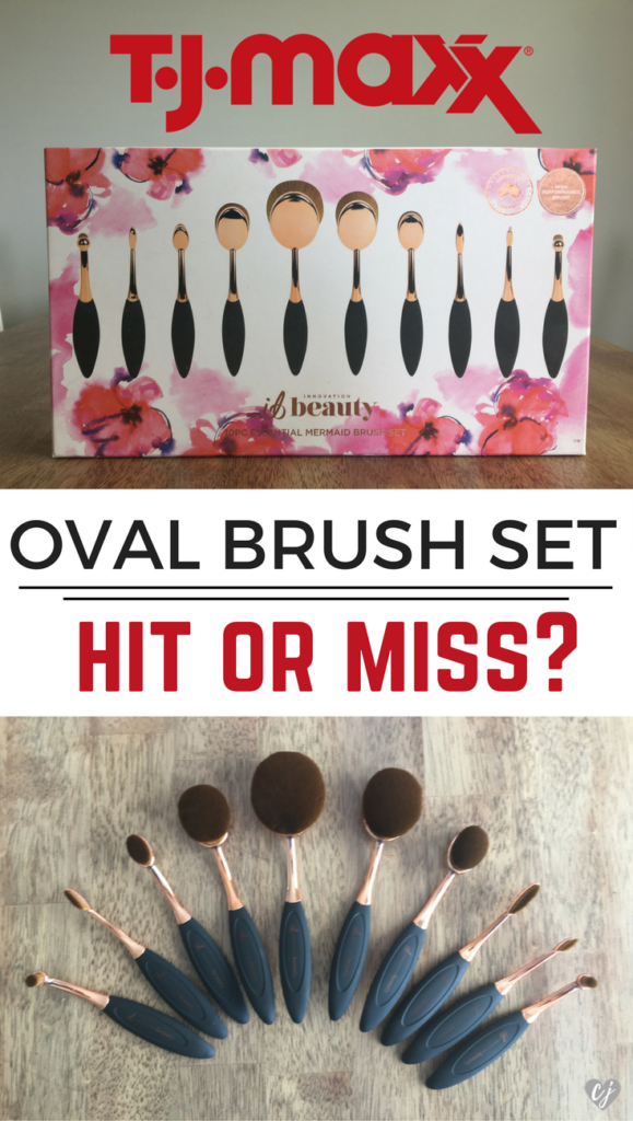 TJ Maxx Oval Brush Set – Hit or Miss?
