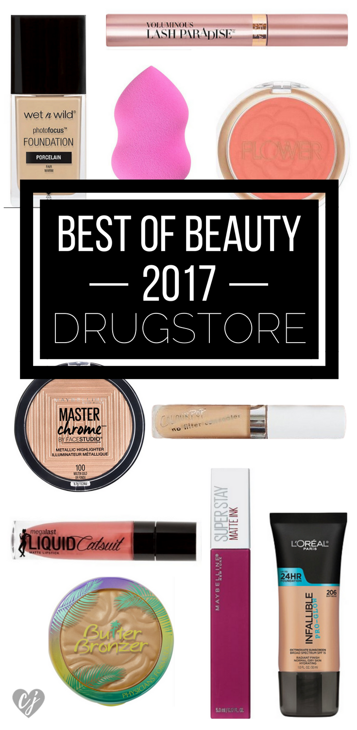Best of Beauty 2017 Drugstore Makeup