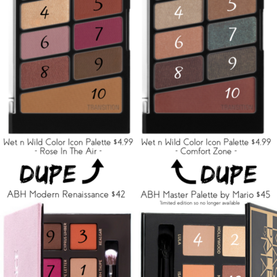 New Wet n Wild Color Icon Palettes – ABH Dupes