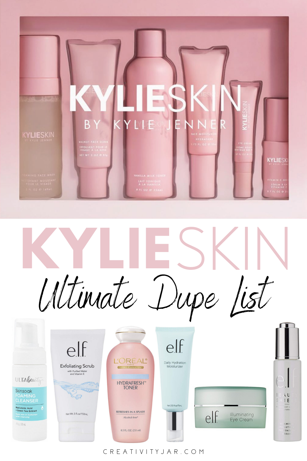 Kylie Skin Dupes