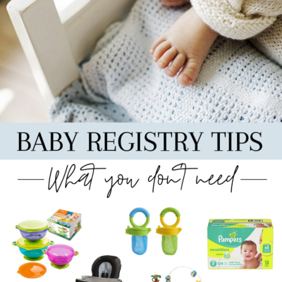 Baby Registry Tips: What You Don't Need