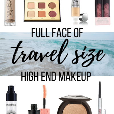 Full Face of Travel Size High End Makeup