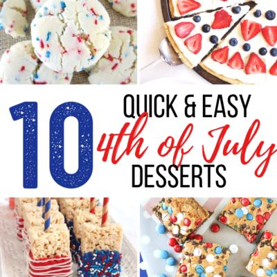 10 Quick and Easy 4th of July Desserts