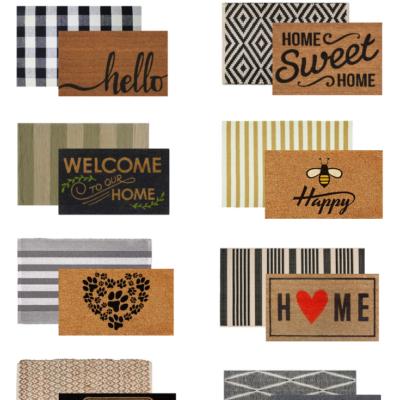 Modern Doormat and Rug Combos Under $40