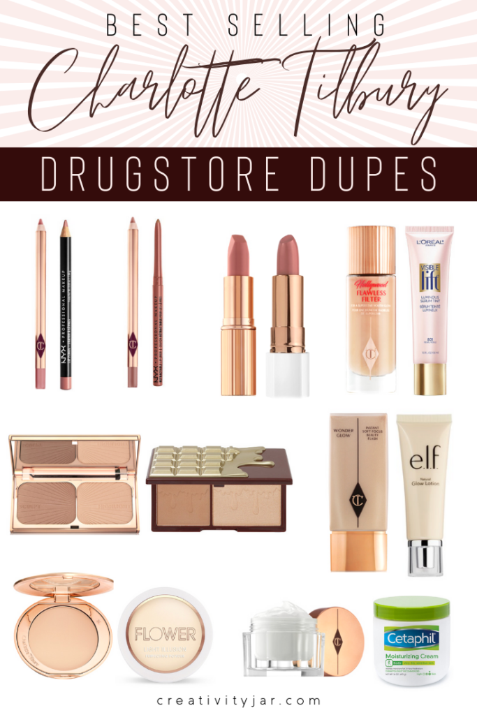 Affordable Charlotte Tilbury Dupes