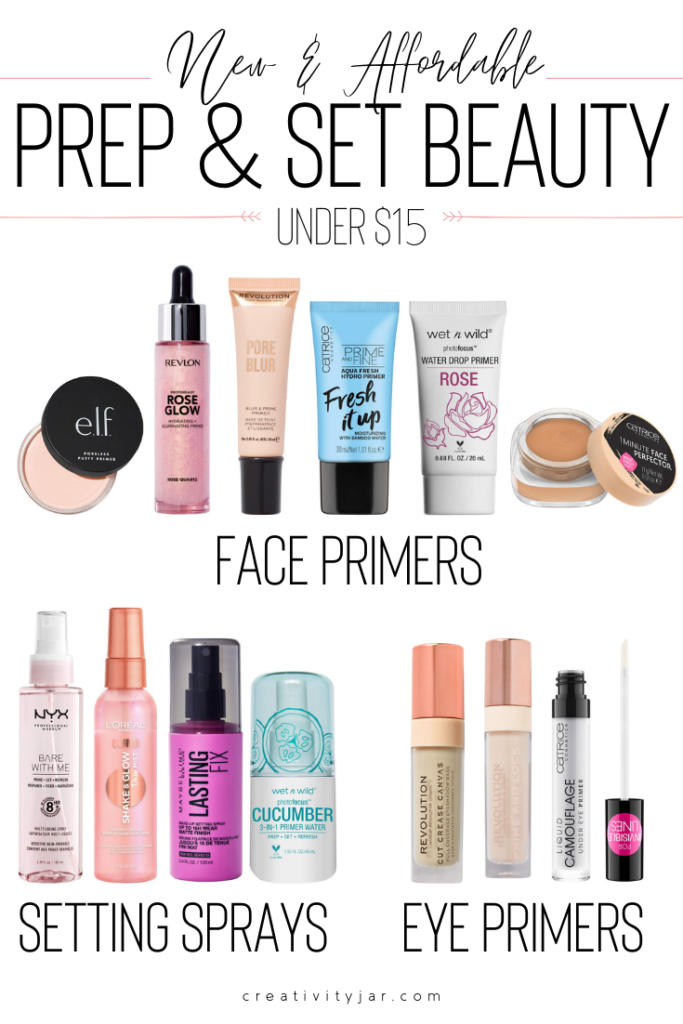 New Affordable Prep And Set Beauty Under $15