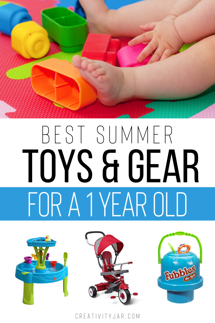 Best Summer Toys And Gear For A One Year Old