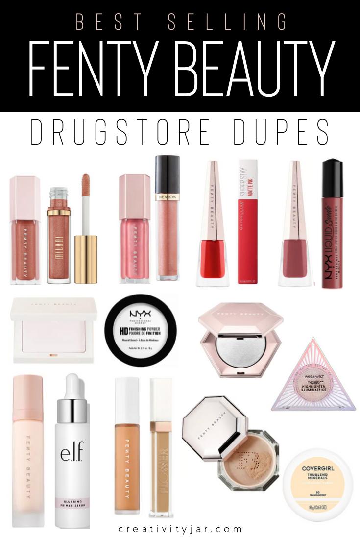 Best Selling Fenty Beauty Drugstore Dupes