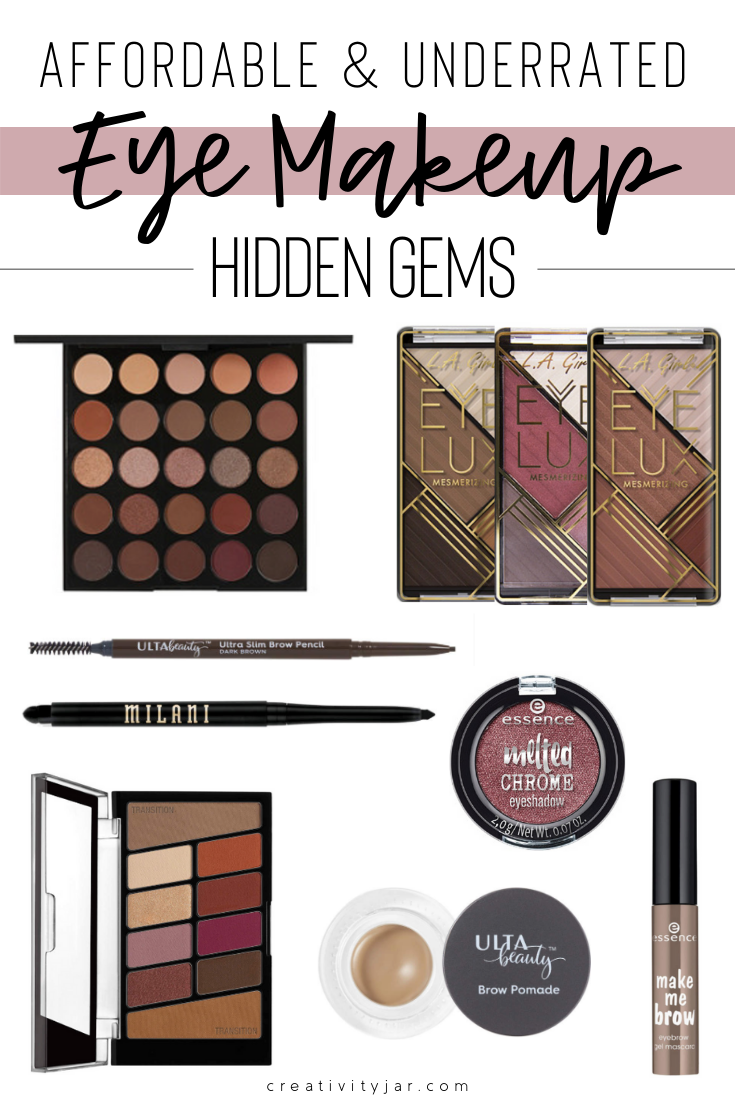 Affordable & Underrated Eye Makeup Hidden Gems