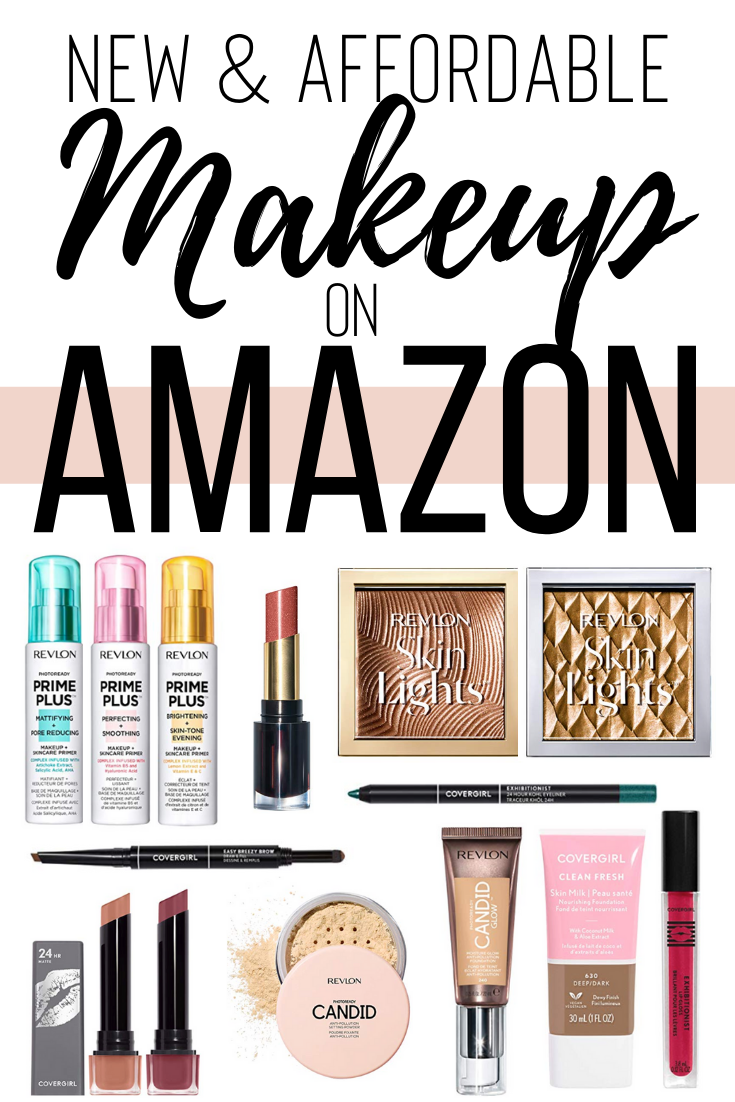 New Affordable Makeup Amazon Winter 2019