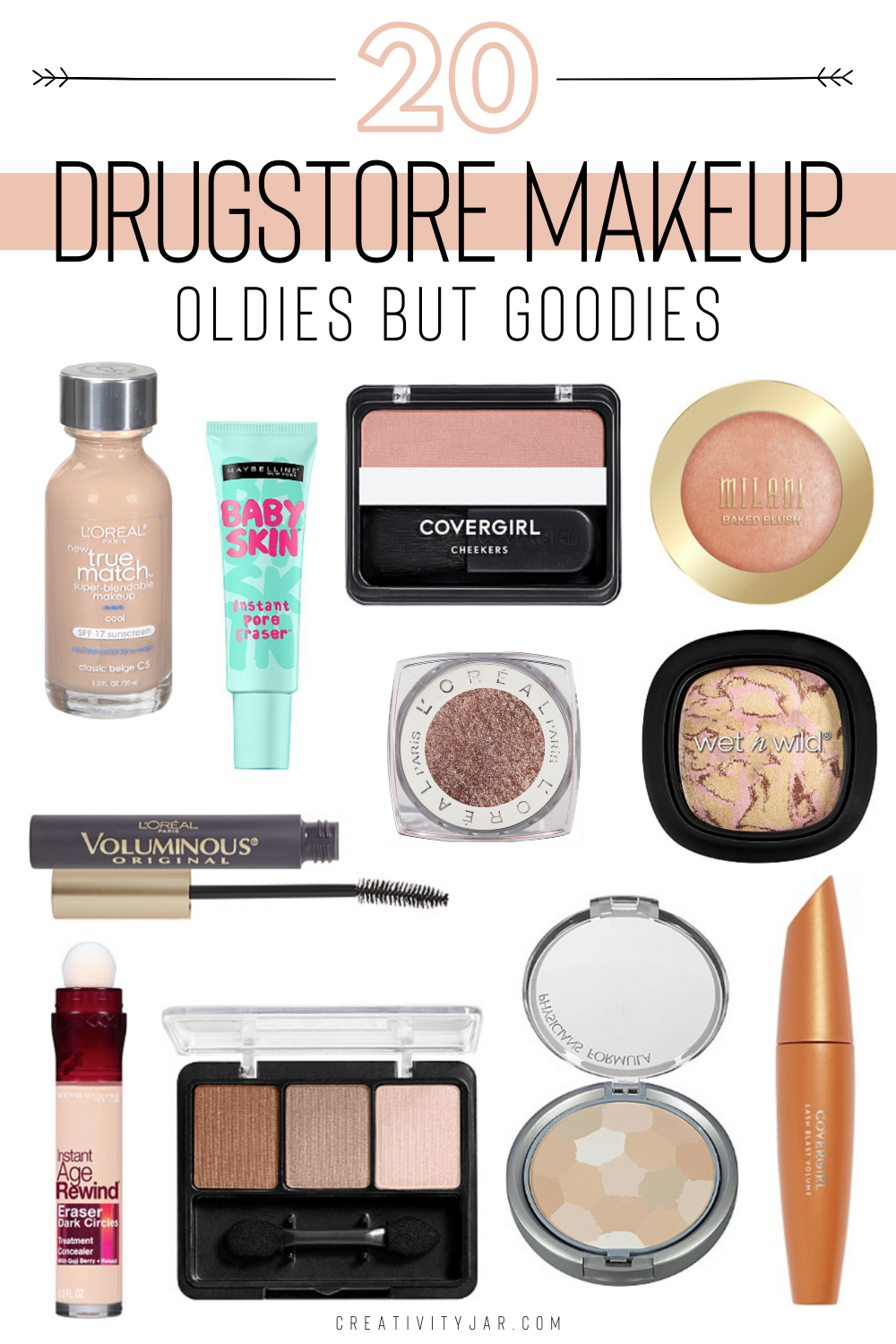 Timeless Bestselling Drugstore Makeup Products