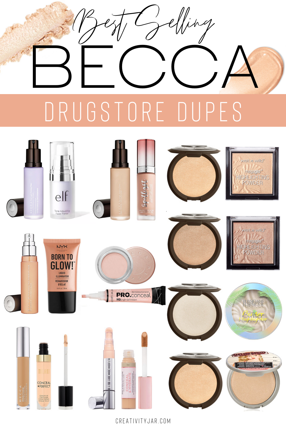 Affordable Becca Dupes