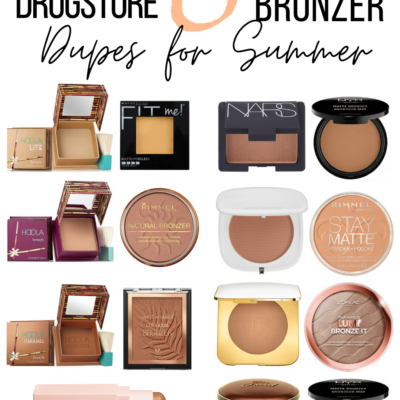 8 Must Have Drugstore Bronzer Dupes For Summer