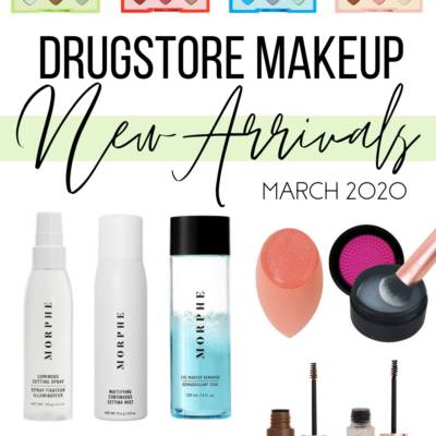 New Drugstore Makeup March 2020