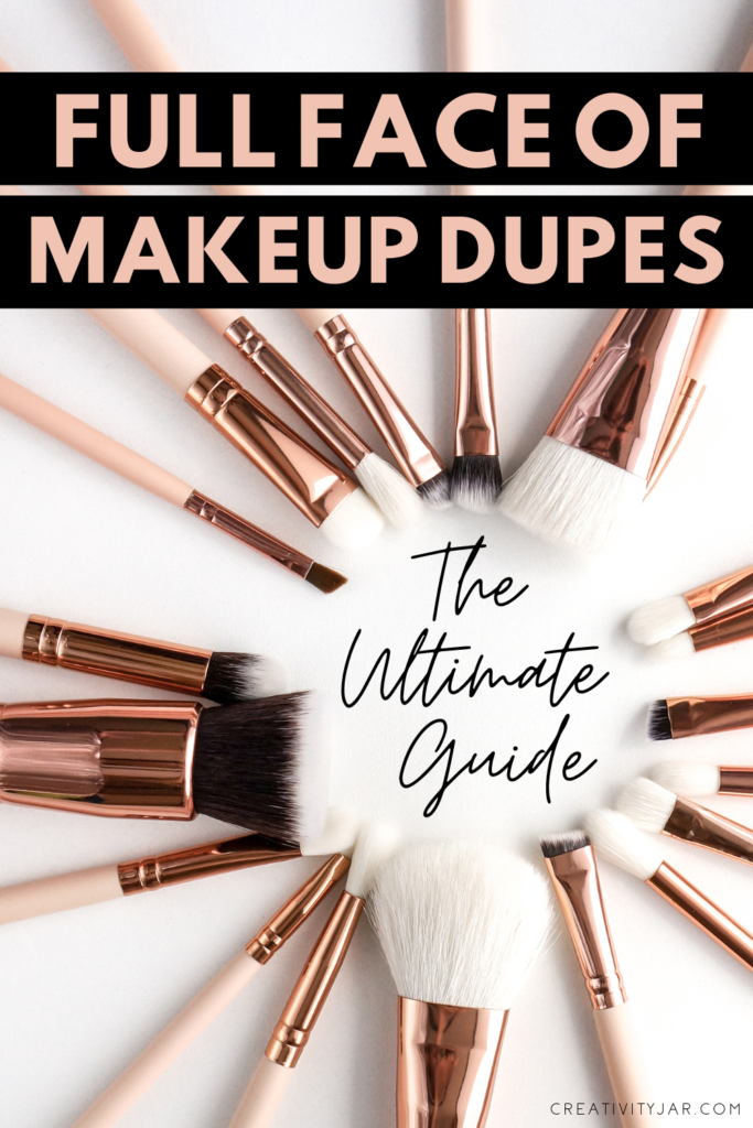 Full Face Of Makeup Dupes