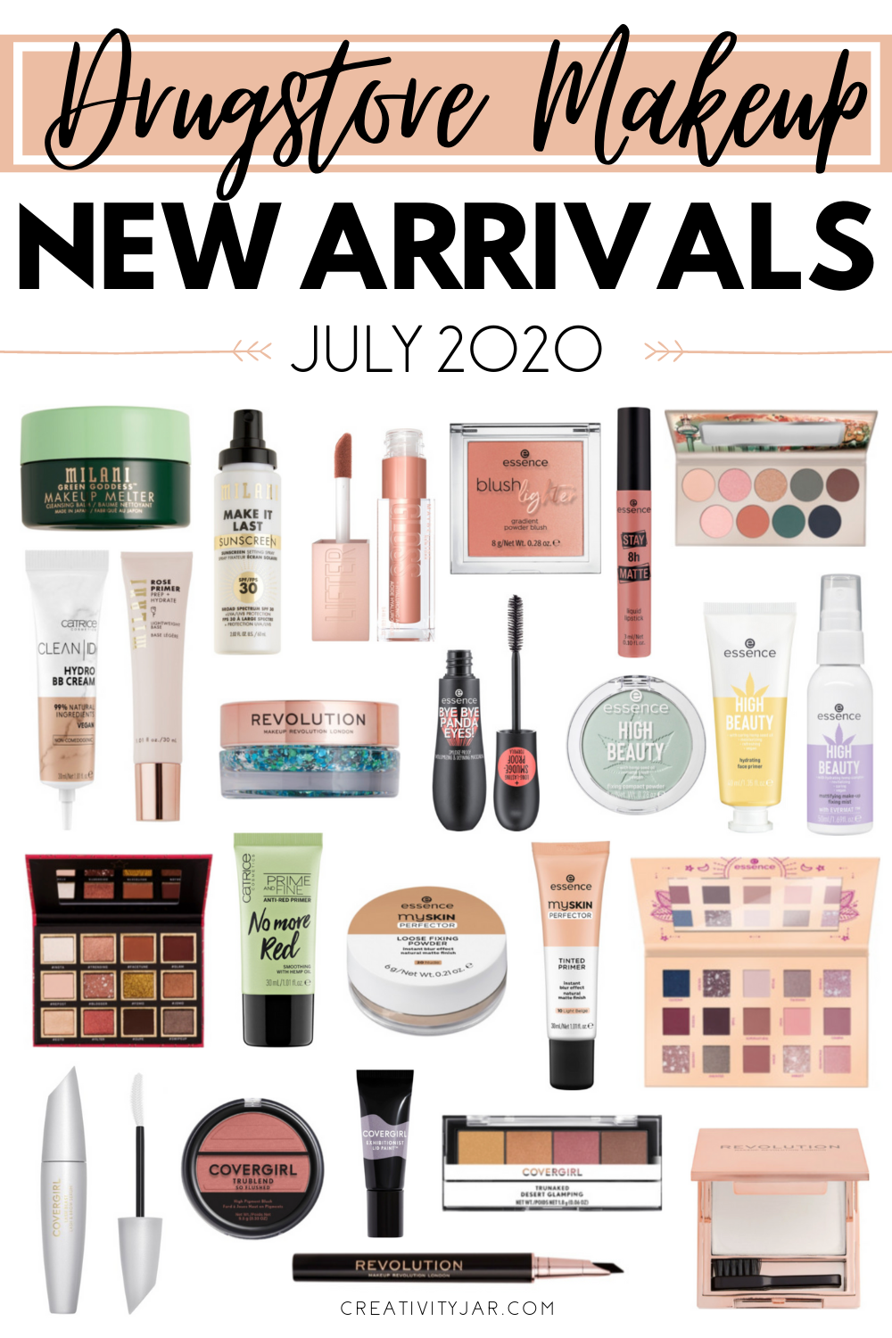 New Drugstore Makeup July 2020
