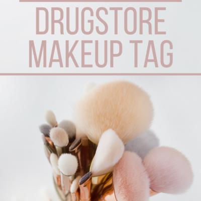 2020 Drugstore Makeup Tag