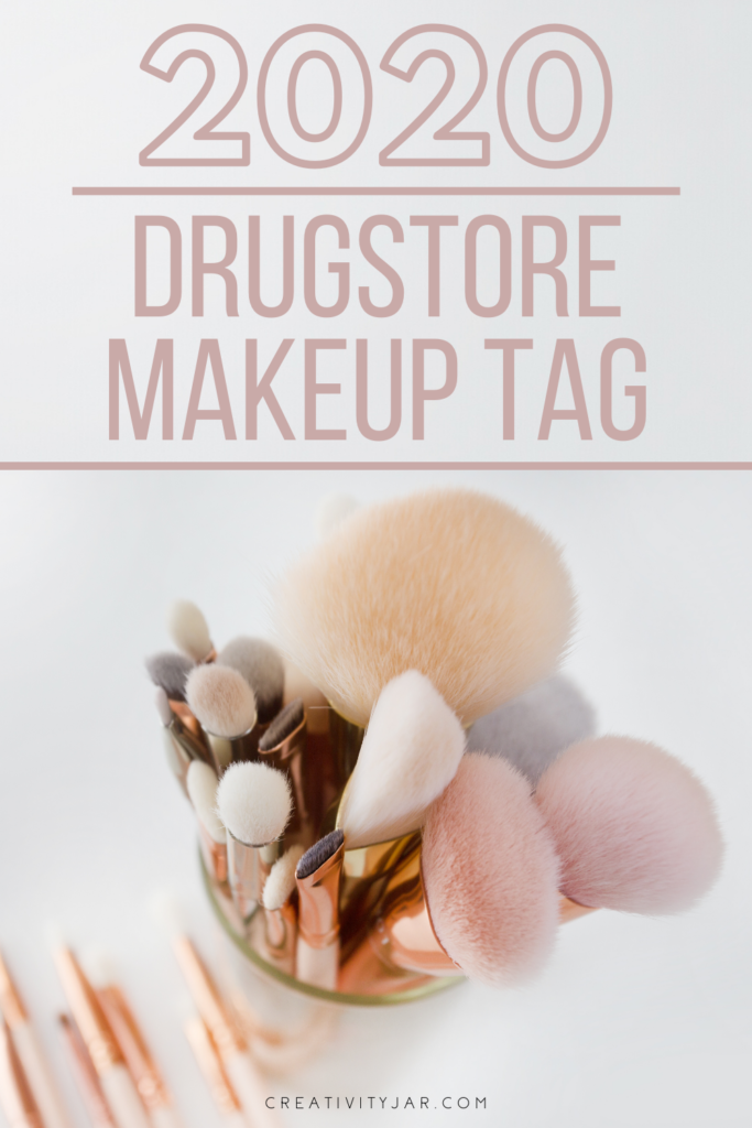 2020 Drugstore Makeup Tag