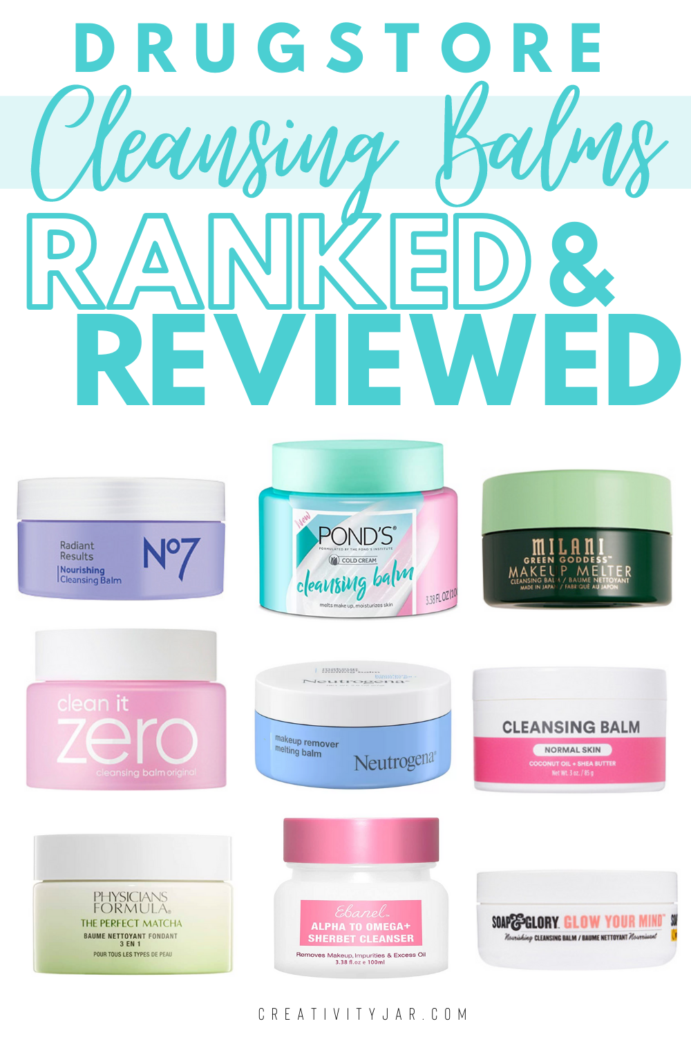 The Best Drugstore Cleansing Balms