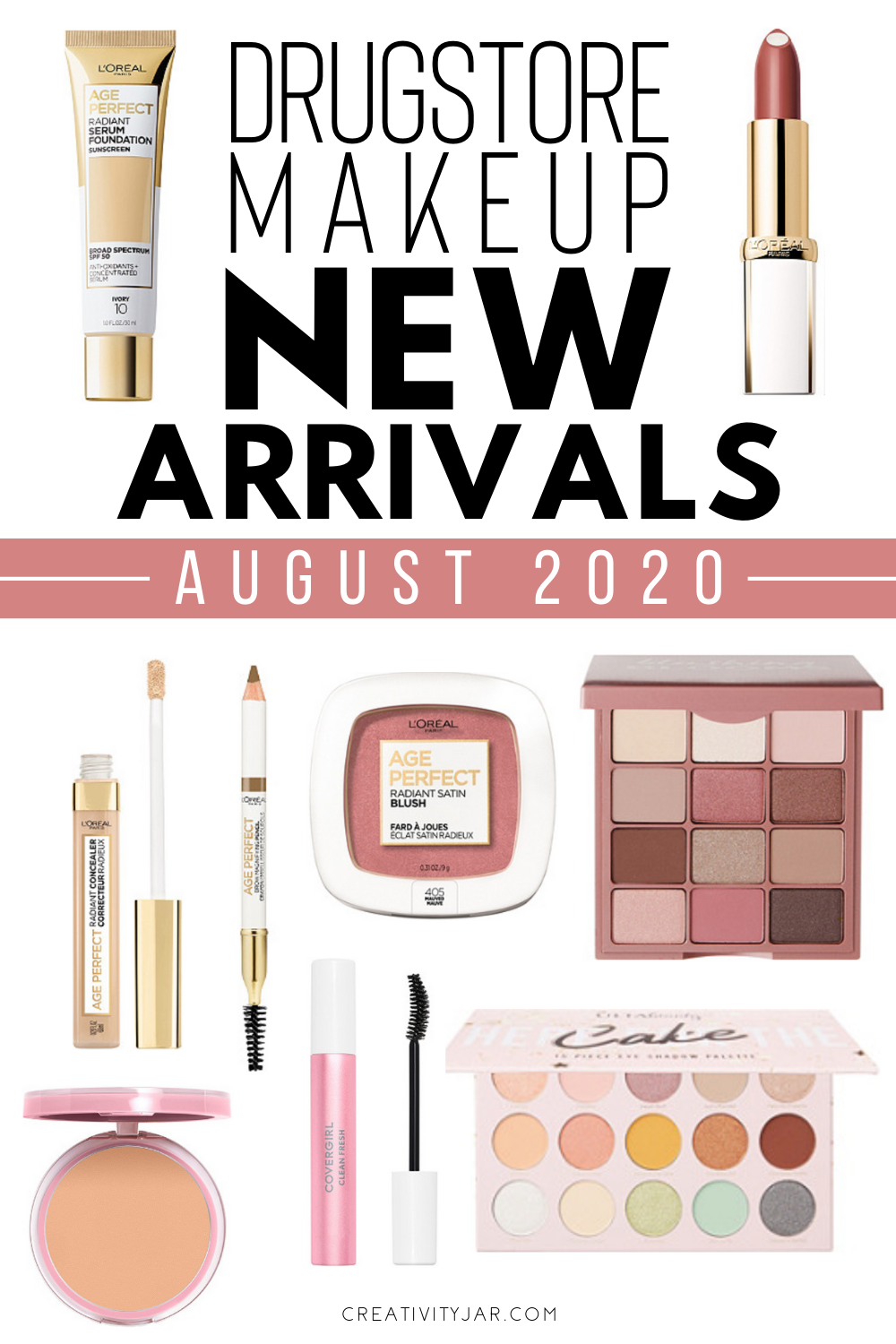 New Drugstore Makeup August 2020