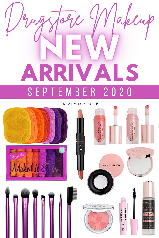 New Drugstore Makeup September 2020