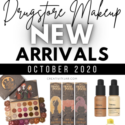 New Drugstore Makeup October 2020