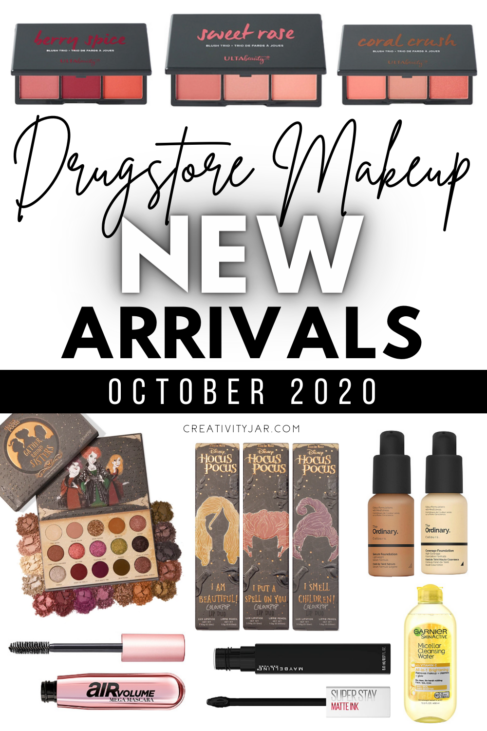 New Drugstore Makeup October 2020