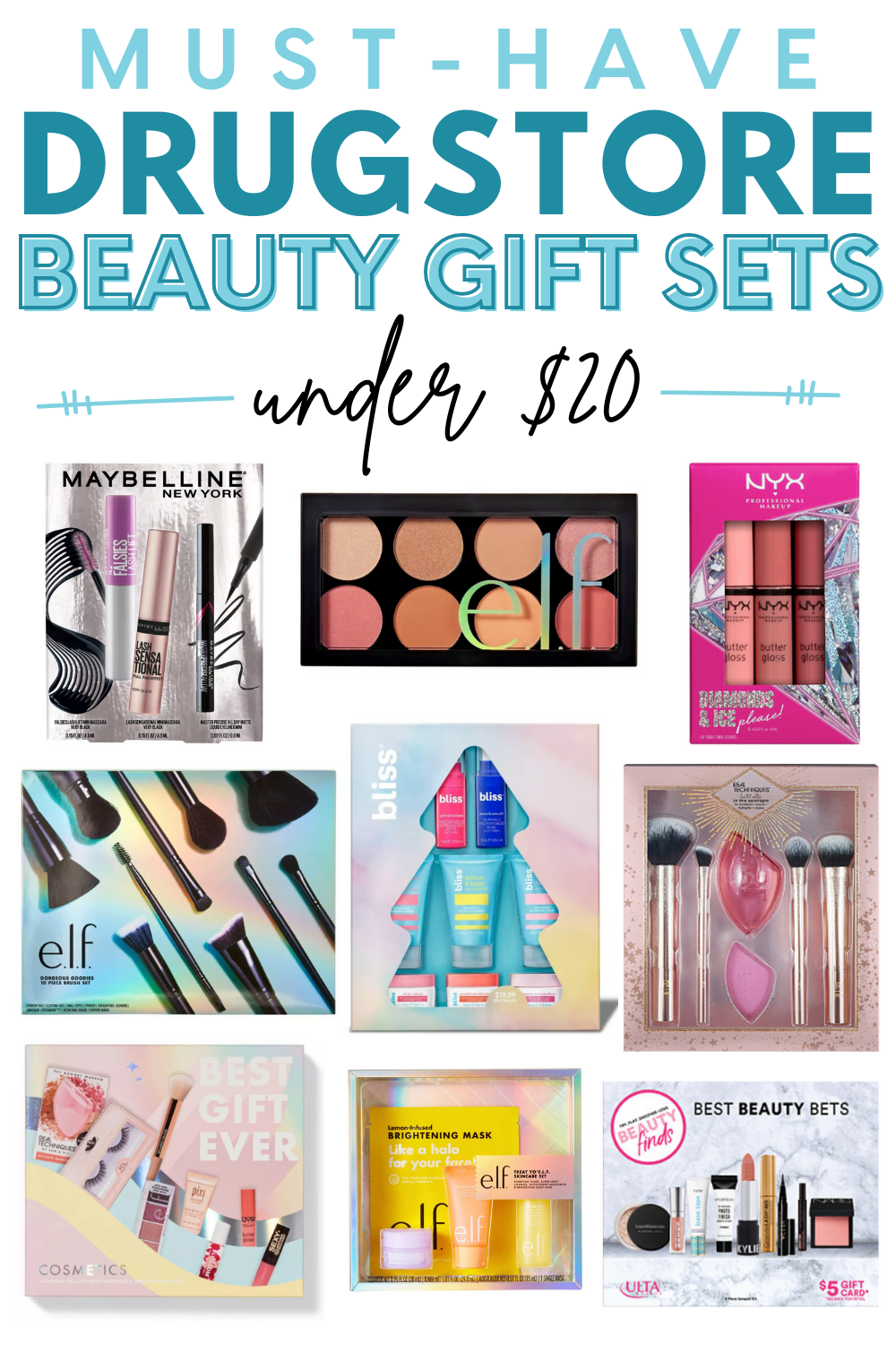 The Best Drugstore Beauty Gift Sets Under $20